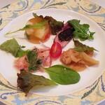 120031049 - 『Pranzo(ランチ)Cコース』◇前菜盛合せ  ◇ワンプレートに4種類の前菜