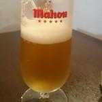 バル デ エスパーニャ セロ - 樽生ビール「マオウ」