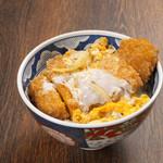麺や 八刻丸 - 料理写真:八刻丸オリジナルで開発した「かえし」を合わせたカツだれとの相性はどの方にも納得できる低価格で贅沢な味わい