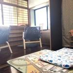 Coco Cafe relief - 別部屋のおむつ交換スペース