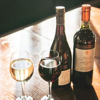 本場ワインの種類が豊富♪