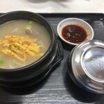 韓国キッチン ソウル市場 - カルビタン 700円+10%  ライス 200円+10%