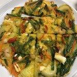 韓国キッチン ソウル市場 - 海鮮チヂミ 美味しい❗️