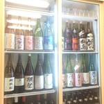 笑顔 - 中華屋に日本酒あってもいいじゃな~い。