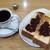 喫茶マロニエ - 料理写真:モーニング(全体)