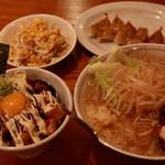 麺創宮本 - 1150円でこのボリューム