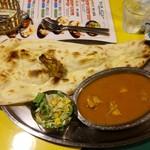 インドタイガー - チキンカレー(ランチセット)