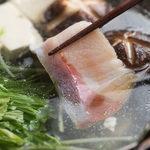 匠海山 ととにぃ - ぶりしゃぶ鍋