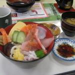 寿し駒 - 海鮮丼 1500円