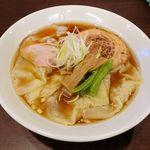 120060866 - 麺屋 七利屋(わんたん中華そば 910円)