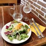 ピッツア ダ バッボ - ランチのサラダ