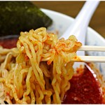 Hokkaidouramenrairaiken - クラシカルな雰囲気のある麺。