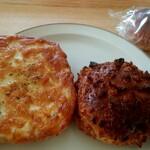 パン コリス - 料理写真:クロックムッシュ、ひよこ豆のカレーパン、粒あんパン