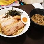 らーめん なが田 - 特製つけ麺(醤油)  1,200円