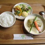 12007097 - ロールキャベツのクリーム煮(コーヒー付:750円)