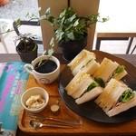 喫茶いのん - ミックスサンドイッチset