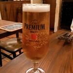 ビストロ カンパーニュ - 生ビール 700円