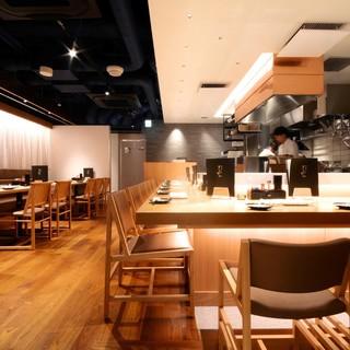 ★栄駅スグ!広々とした清潔な空間で安全な料理を♪