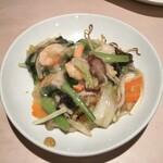 広味坊 - 八宝菜焼きそば1,540円