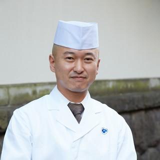 本店店主宮坂展央「御料理宮坂」
