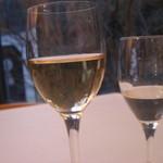 オーベルジーヌ - 白ワインと水と '12.03