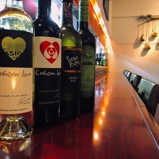 【日替わりグラスワイン8種類】いろいろなワインをお楽しみに