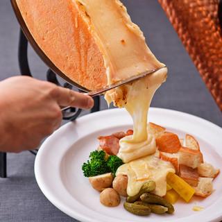 たっぷりチーズを堪能!こだわりのチーズ料理♪