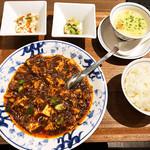120098666 - 陳麻婆豆腐ディナーセット1580円+税