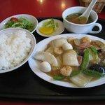 牡丹園 - 八宝菜定食