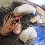 ステーキ円山 - 海鮮一式