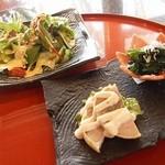 ステーキ円山 - 前菜盛り合わせ