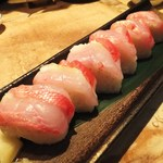 いか天国 - 金目鯛棒寿司