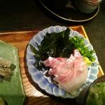 120107510 - 鯛と薬味