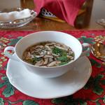 風 - 原木しいたけのスープ~☆