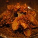 札幌ぶたやO38 - ゴボウのトマト煮込み
