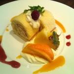 12011773 - ロールケーキ。