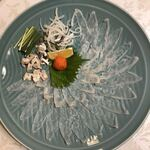 はつしろ - 料理写真:ふぐ刺し大皿