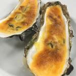 ツカサ - 焼き牡蠣、サバイヨン仕立て(11月~2月期間限定メニュー)