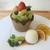 日本橋果物 - マクロビクッキーショットパフェ