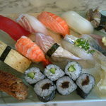 ん寿司 - 寿司いっぱいランチ1000円
