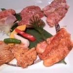 焼肉 徳 - 6種類の肉・肉
