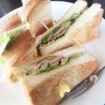 炭焼珈琲ヨシダ - チーズベーコン