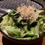 120130955 - 自家製まんぷくサラダ(チョレギサラダっぽい)