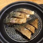 横浜おばんざい月読 - 鯖の燻製