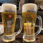 ろばた焼 和和 - いつものビール