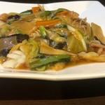 中国料理 龍亭 - 五目焼きそば