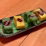 肉と京料理 かぐら - 焼き生麩 田楽仕立て