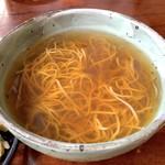 天庵 - ごぼうの香りが薫るお蕎麦