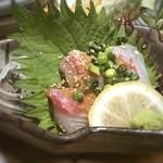 Hakatanaginoki - カンパチ胡麻和え