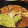 竹藩 - 料理写真:地鶏ももすき焼き